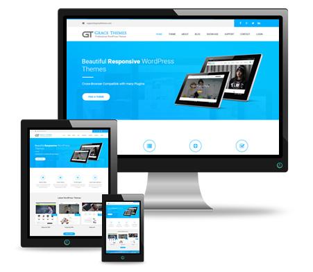 Responsive Best WordPress Themes by GraceThemes