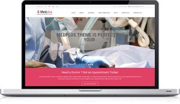 Healthcare and WordPress Medical Theme by GraceThemes