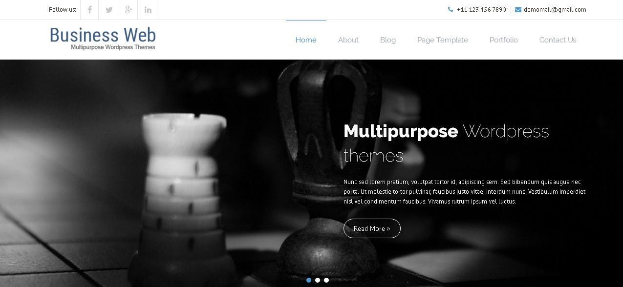 Business Web WordPress themes