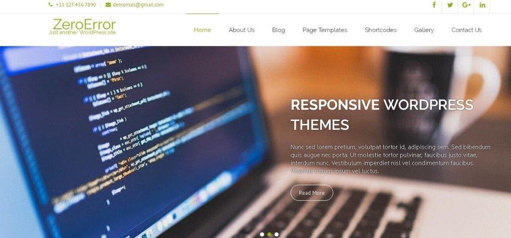 ZeroError WordPress Themes