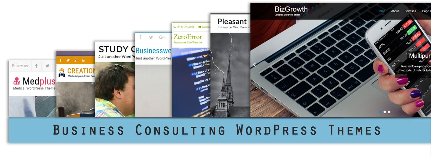 Most Popular Business Consulting WordPress Themes