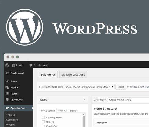 wordpress-installing