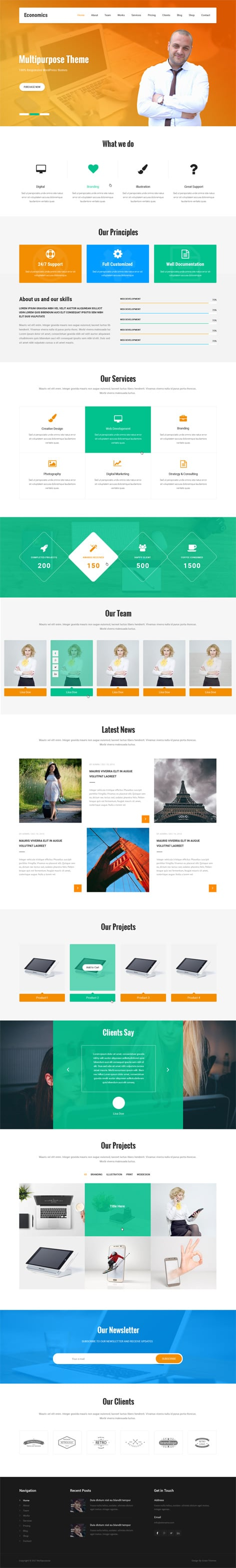 WordPress Website Templates And Themes By GraceThemes - Buy wordpress templates