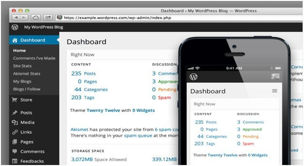 WordPress Dashboard Settings