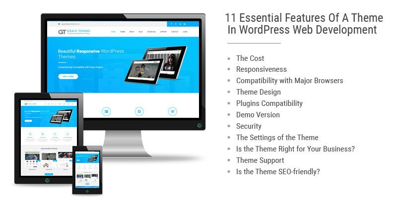 11 Essential Features Of A Theme In WordPress Web Development
