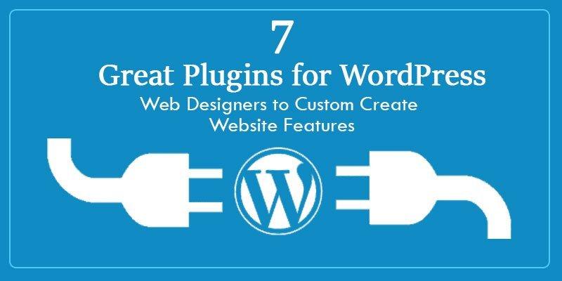 Plugins for WordPress Web Designers