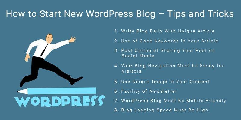 Start New WordPress Blog