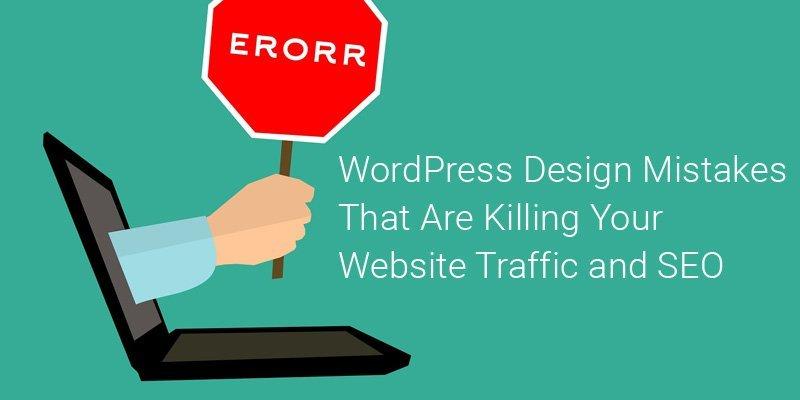 WordPress Design Mistakes