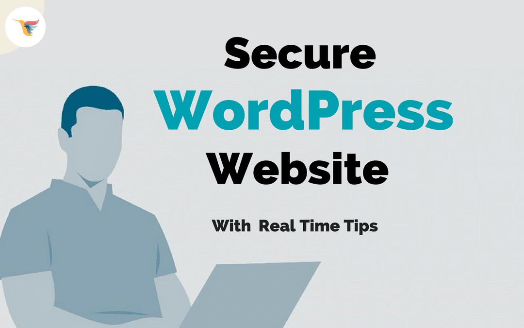 Tips to Secure WordPress Website