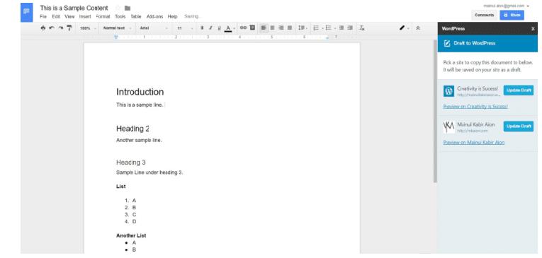 collaborating editing platform