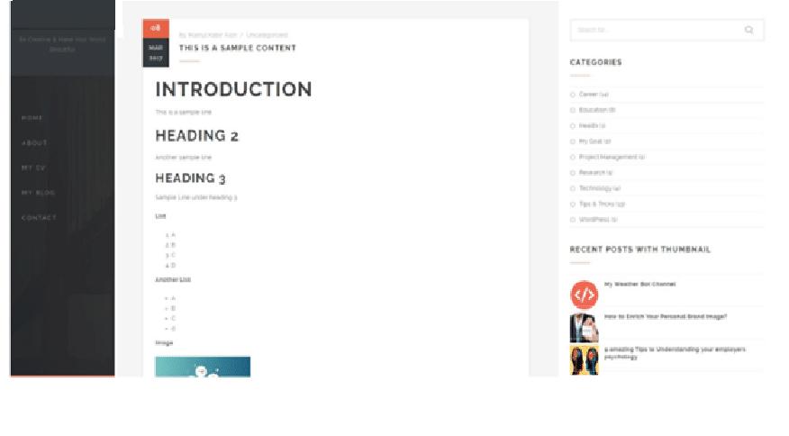 WordPress-powered website