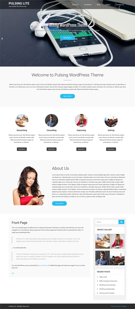 30 business professional free wordpress themes with responsive