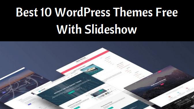 WordPress themes free with slideshow