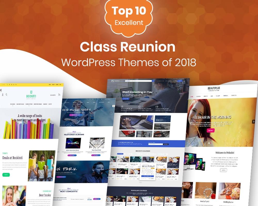 Class Reunion Wordpress theme