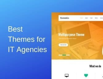 best wordpress themes for it agency websites