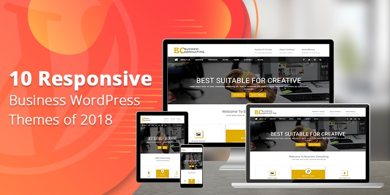 10 Responsive Business WordPress Themes of 2018