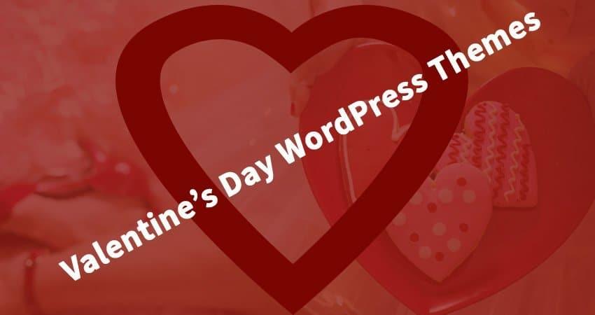 Valentine's Day WordPress Themes