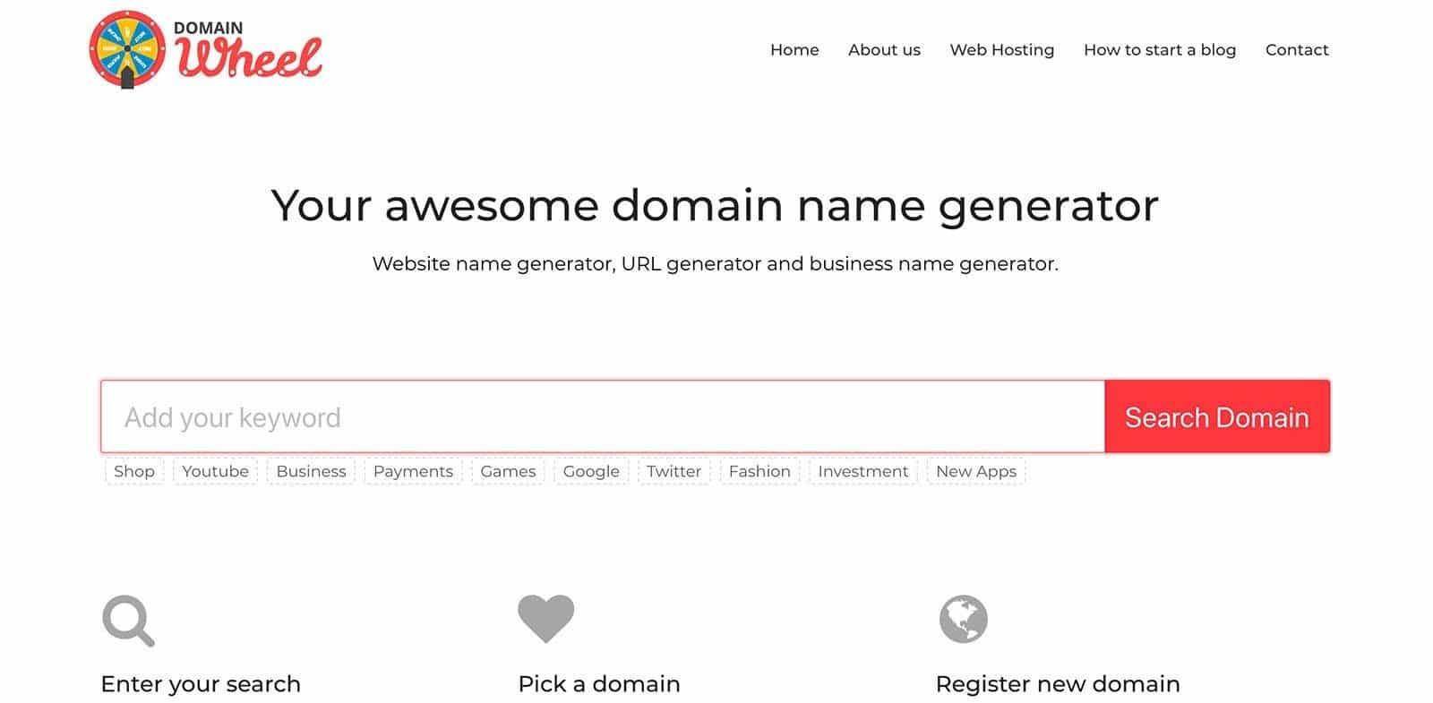 Domain Name Generator Tools