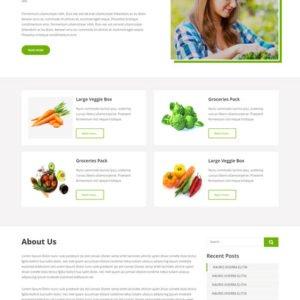 Free Organic Farm WordPress Theme