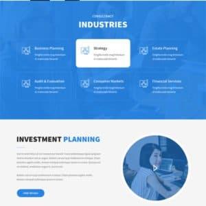 Finance WordPress Theme