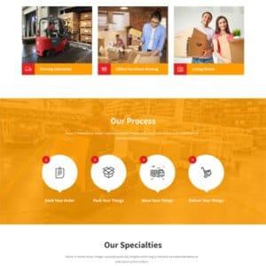 Logistics WordPress Theme