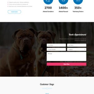 Pet Care WordPress Theme
