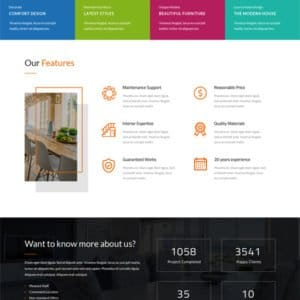 Furniture Shop WordPress Theme
