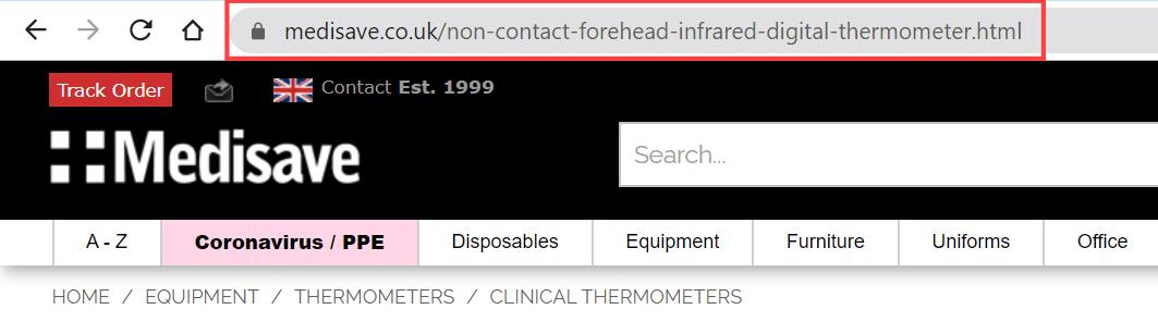 Optimized URL