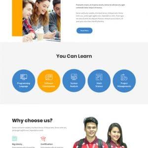 eLearning WordPress Theme