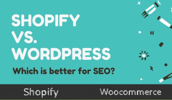 Shopify vs WordPress SEO