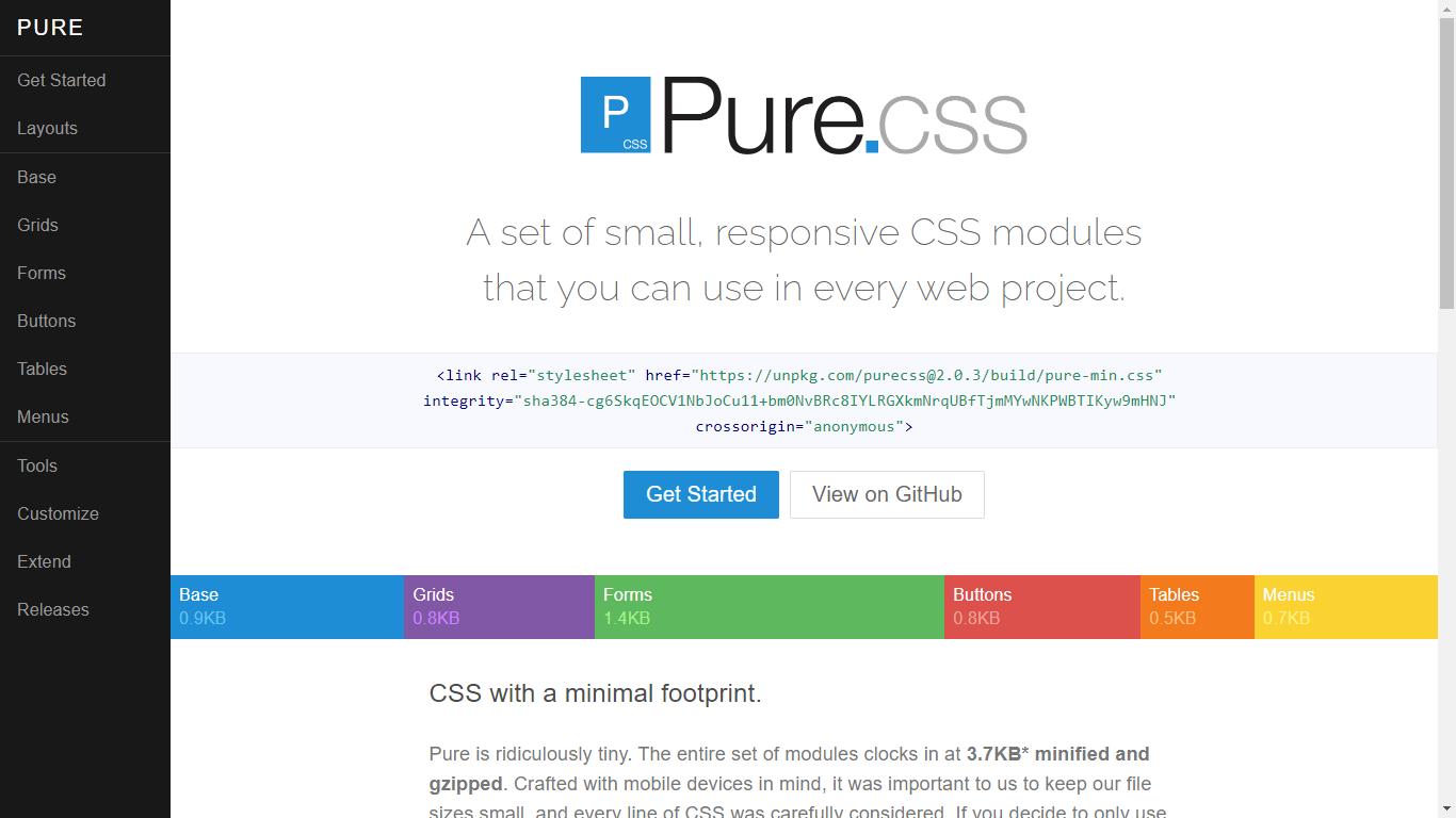 Pure CSS