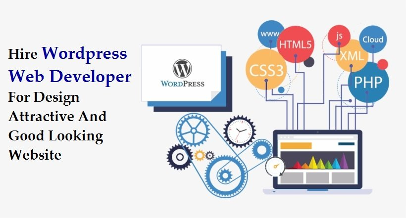 Hire Wordpress Web Developer For Design Attractive And Good Looking Website