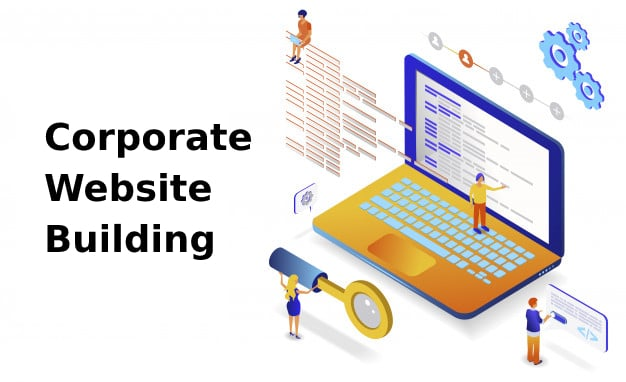 Corporate Website Building