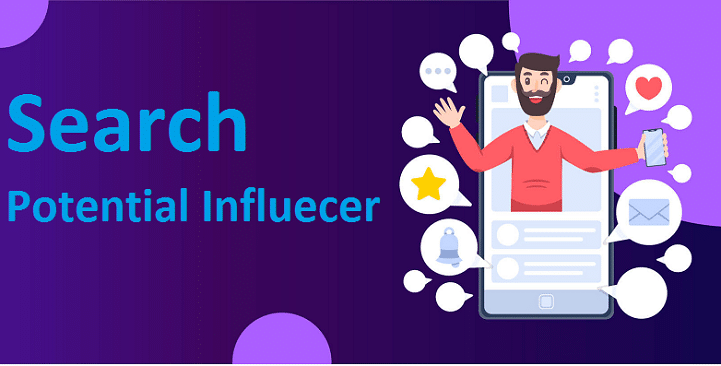 Search Potential influencer