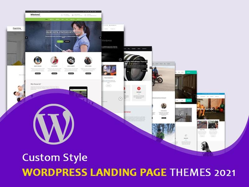 Custom-Style-WordPress-Landing-Page-Themes-2021