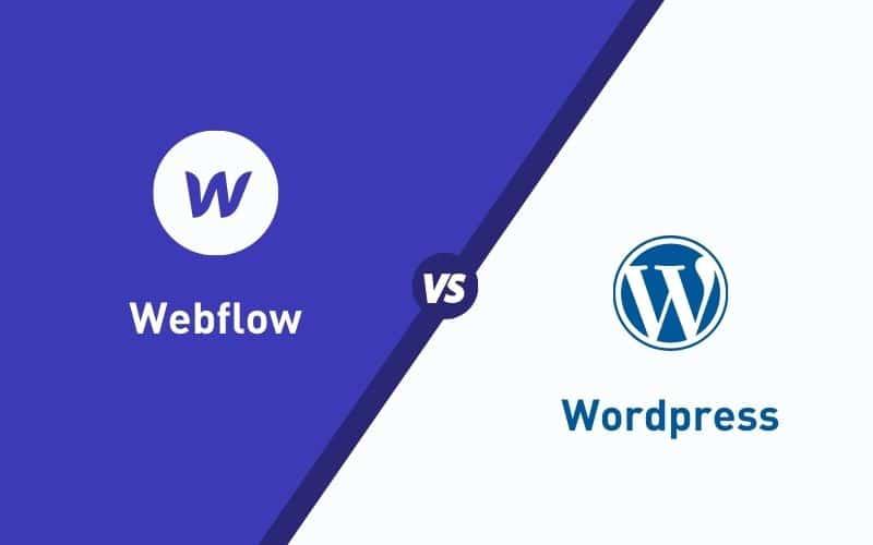 The Comparison Between Webflow vs. WordPress