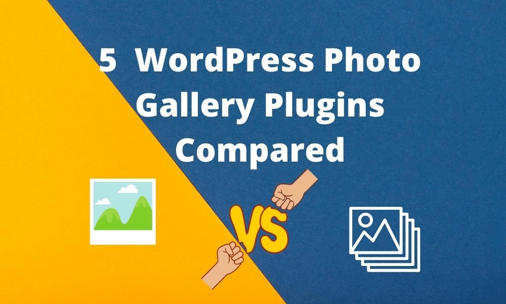 WordPress photo Gallery plugins