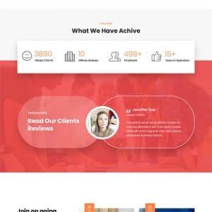 Advisor WordPress Theme
