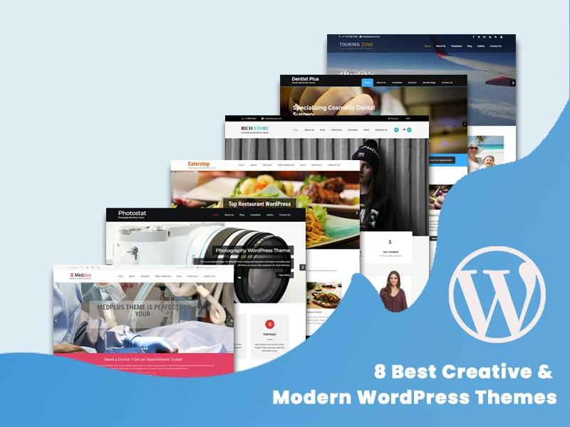 8-Best-Creative-Modern-WordPress-Themes