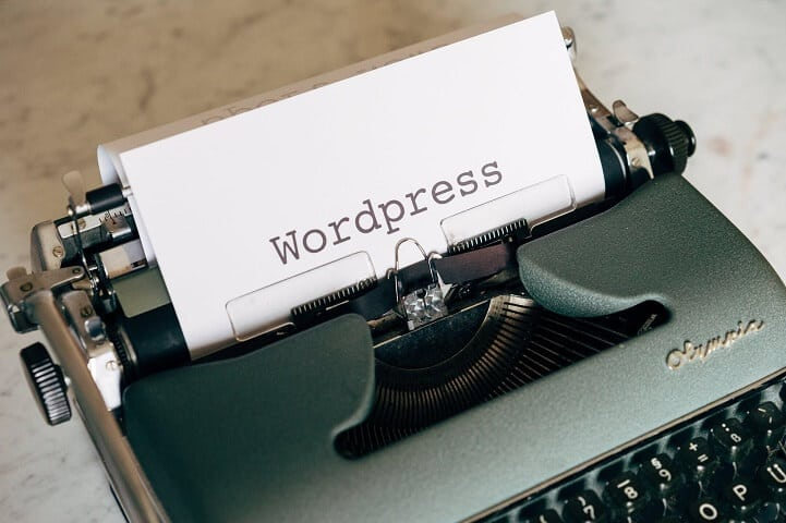 WordPress typewriter